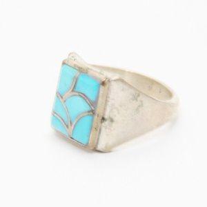 Jewelry - 💍Vintage Inlaid Sleeping Beauty Ring op0066